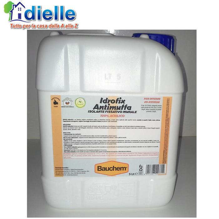 Fissativo acrilico isolante antimuffa per muri fondo for Fissativo antimuffa