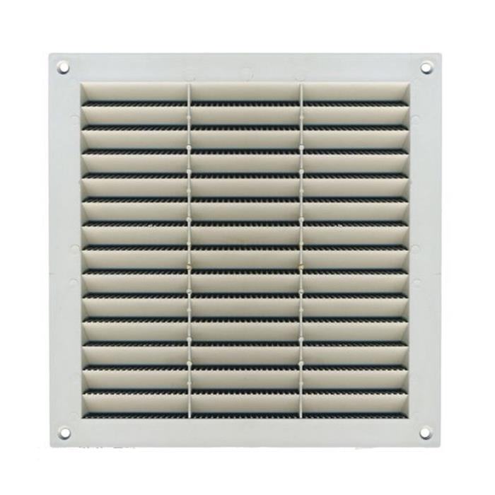 Griglia di aerazione areazione in plastica quadrata 23x23 - Areatore per finestra ...