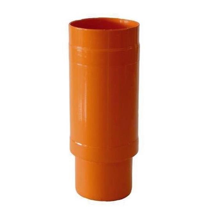 Giunto di riparazione scorrevole arancio manicotto pvc for Raccordo da pvc a rame