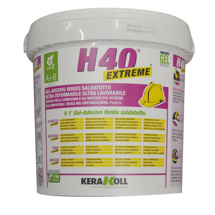 Colla collante h40 extreme gel adesivo ibrido saldatutto a - Colla per piastrelle kerakoll ...