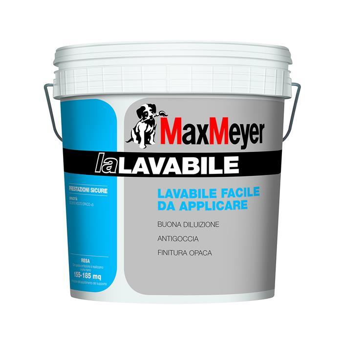 LA LAVABILE 14 LT. MAX MEYER PITTURA MURALE IDROPITTURA ...