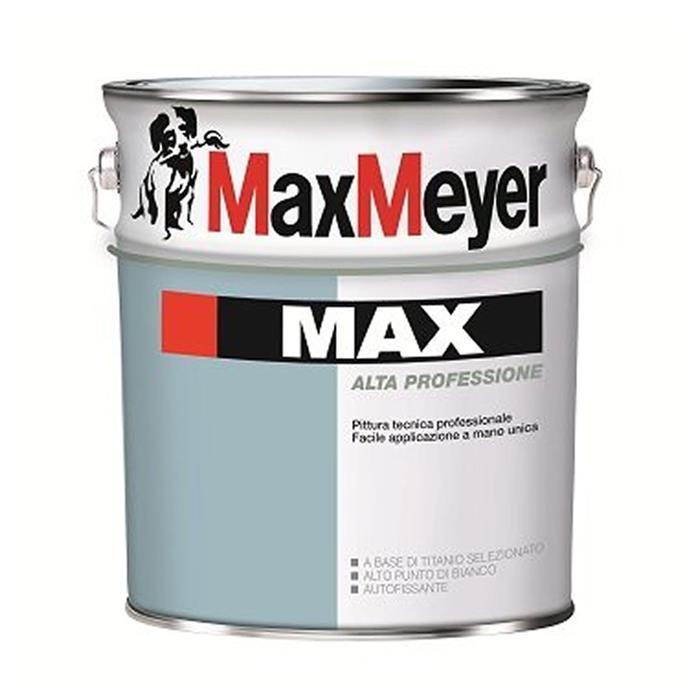 MAX 14 LT. MAX MEYER PITTURA LAVABILE MASCHERANTE BIANCO ...